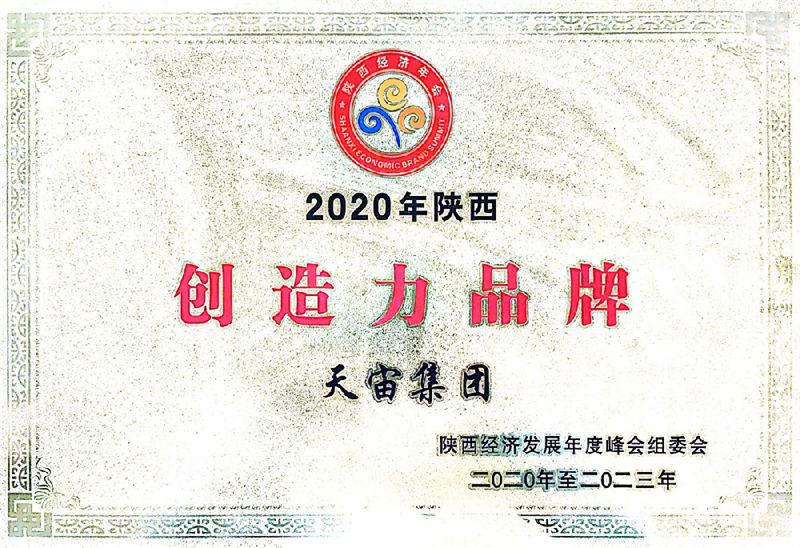2020陕西创造力品牌