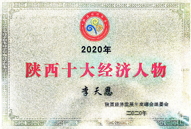 2020陕西十大经济人物